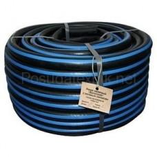 DELTA Шланг поливочный резиновый кордовый рукав 25мм, 50м с синей полосой (г. Волжский)