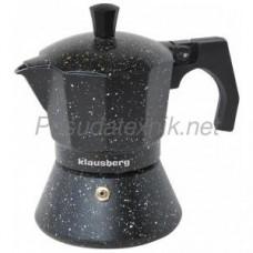 Кофеварка Klausberg эспрессо 3 чашк.KB-7158