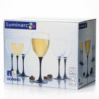 Domino фужер  для вина  350 мл. -6 шт.