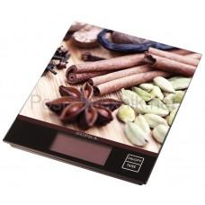 Весы кух Supra BSS-4097 brown электр+подарок