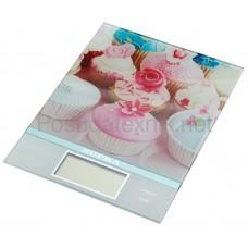 Весы кух Supra BSS-4097 pink электр+подарок